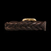 Il Bisonte - Braided Bracelet in Dark Brown