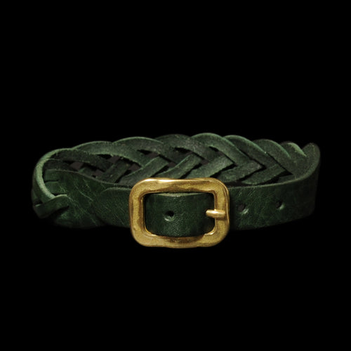 Braided Bracelet in Green