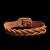 Il Bisonte - Braided Bracelet in Orange