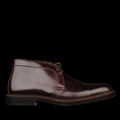 Cordovan Chukka Boot in Color 8 Burgundy 1339