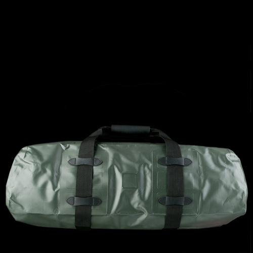 Medium Zip Top Dry Duffle in Green