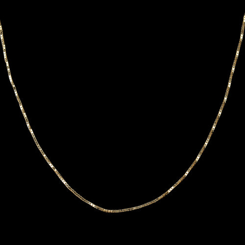 "Thread Necklace 20"" in 14K Gold"