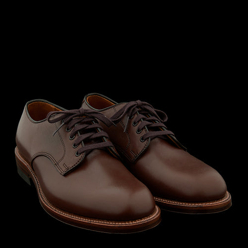 Officer Shoe in Walnut Calf 96813