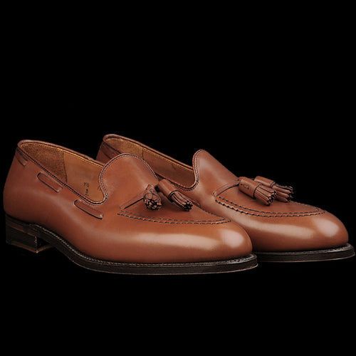 Tassel Mocc in Burnished Tan 662