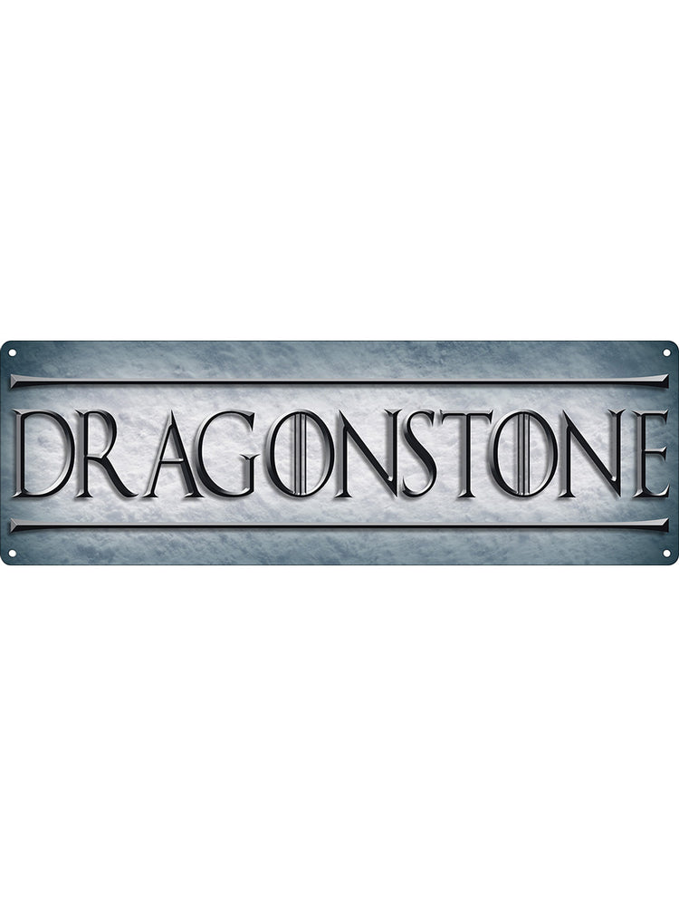 Dragonstone Slim Tin Sign