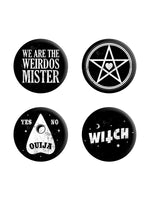 We Are The Weirdos Mister Badge Pack