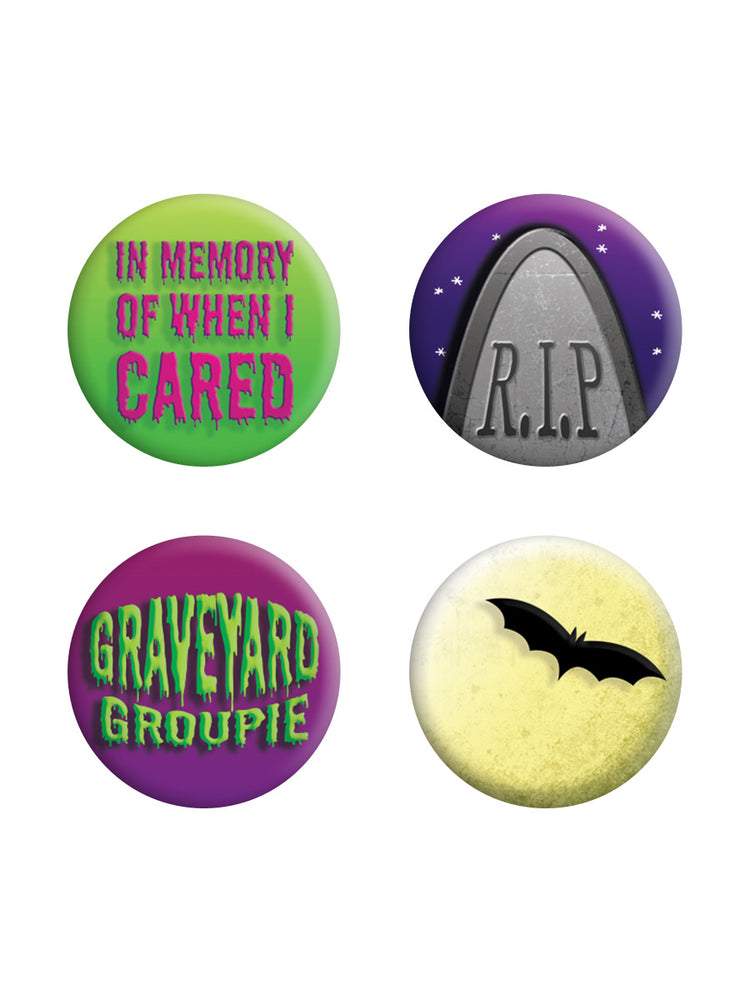 Graveyard Groupie Badge Pack