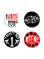 Anti-Social Badge Pack