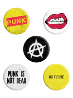 Punk Is Not Dead Badge Pack