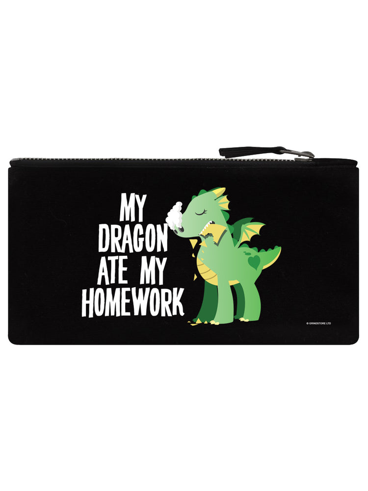 My Dragon Ate My Homework Pencil Case
