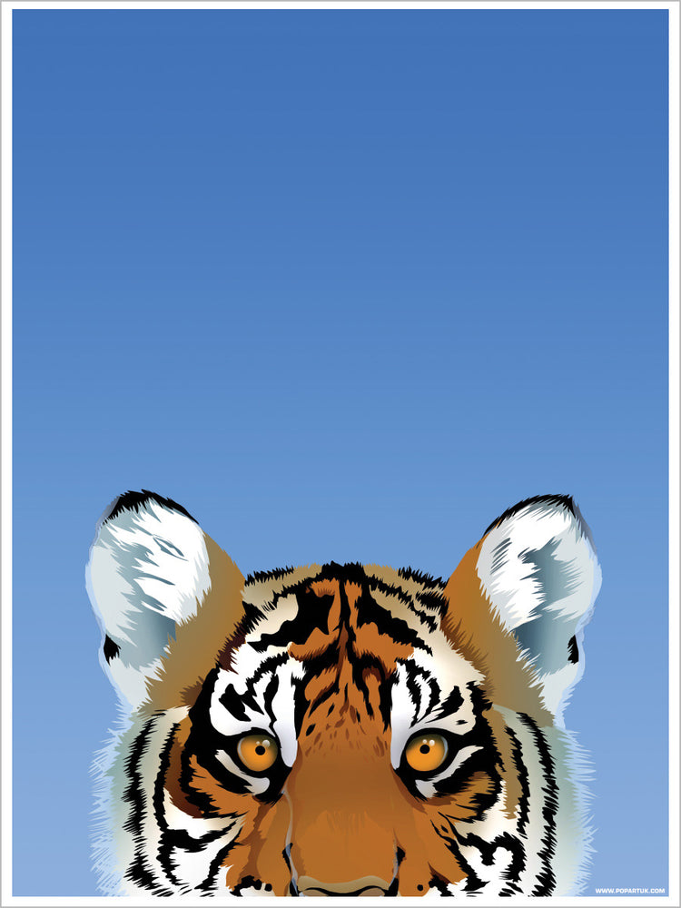 Inquisitive Creatures Tiger Mini Poster