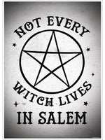 Not Every Witch Lives In Salem Mini Poster