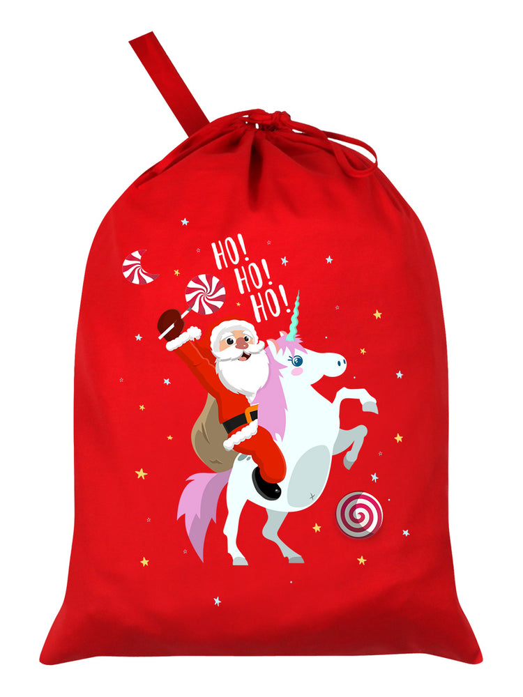 Who Needs Rudolph? Red Santa Sack