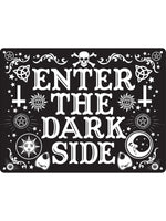 Enter The Dark Side Mini Tin Sign