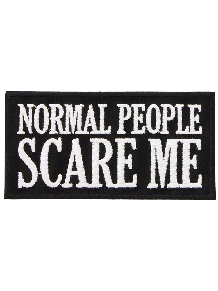 Normal People Scare Me Patch