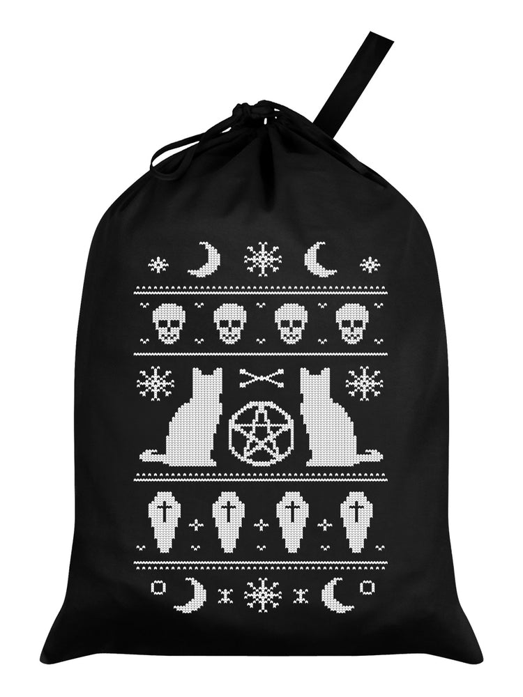 Bewitched Black Santa Sack