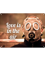 Love Is In The Air Mini Tin Sign
