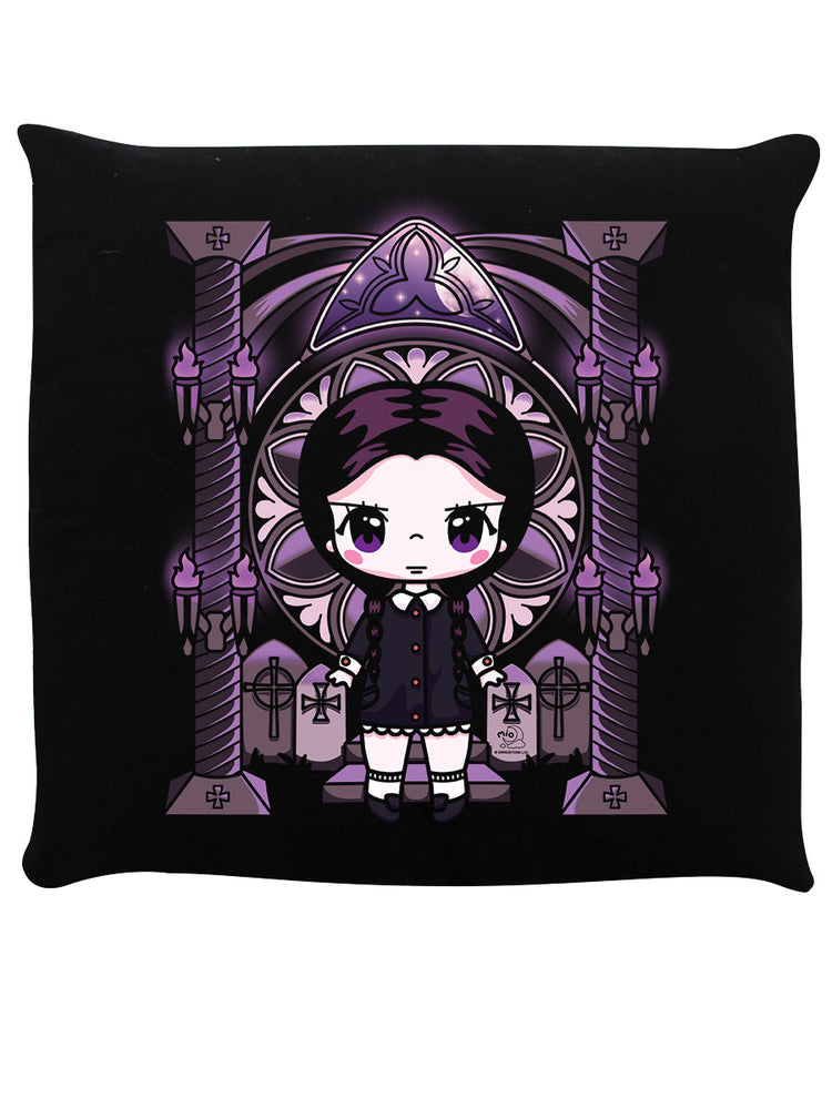 Mio Moon Miss Addams Black Cushion