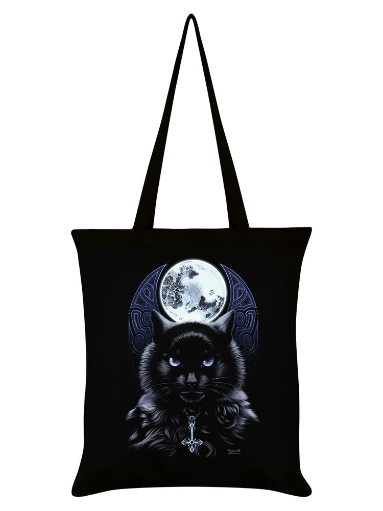 Requiem Collective The Bewitching Hour Black Tote Bag