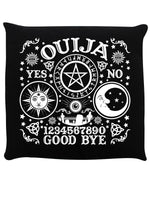 Ouija Board Black Cushion