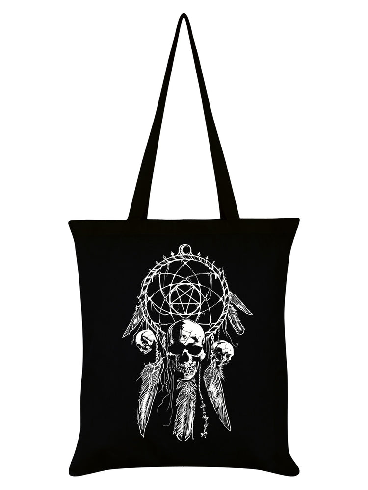 Unorthodox Collective Gothic Dreamcatcher Black Tote Bag