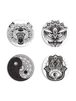Unorthodox Collective Mandala Badge Pack