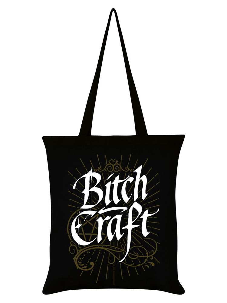 Bitch Craft Black Tote Bag