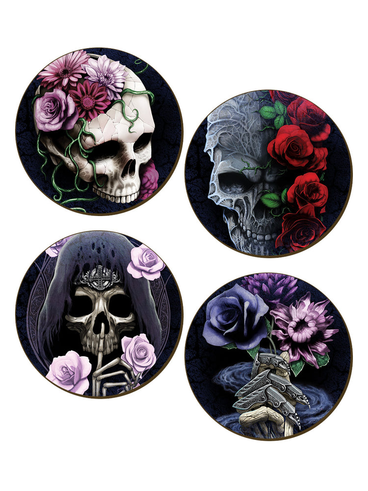 Requiem Collective 4 Piece Coaster Set