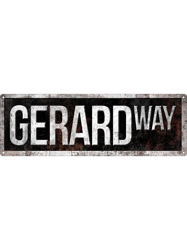 Gerard Way Slim Tin Sign