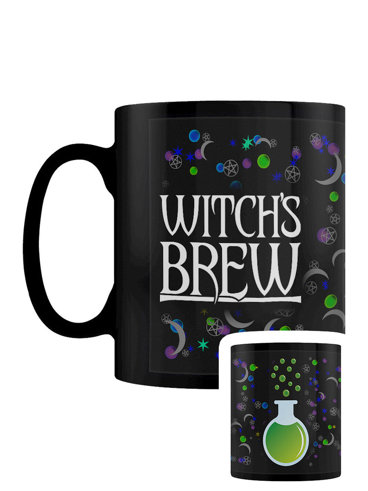 Witch's Brew Black Mug