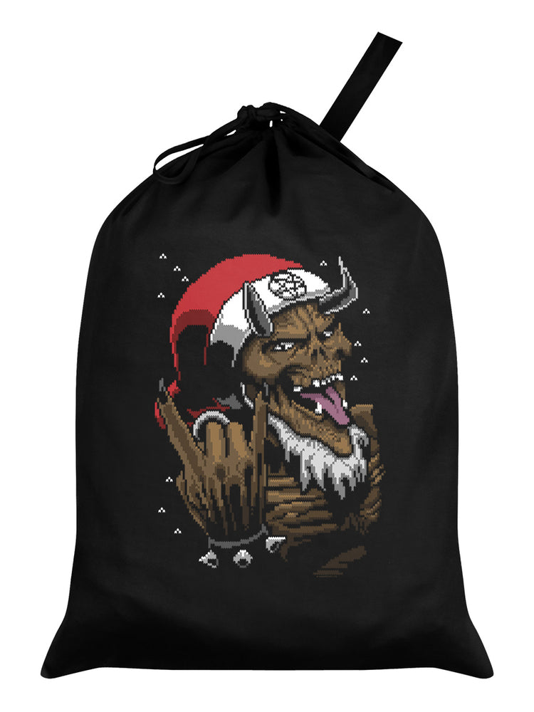 Satan Rocks Black Santa Sack