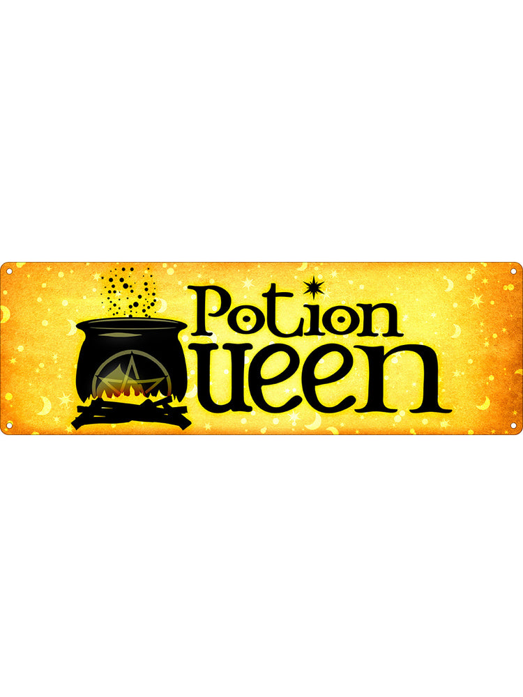 Potion Queen Slim Tin Sign
