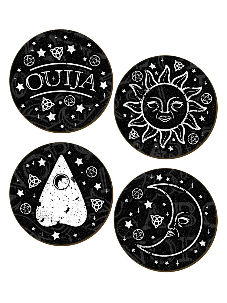 Ouija 4 Piece Coaster Set
