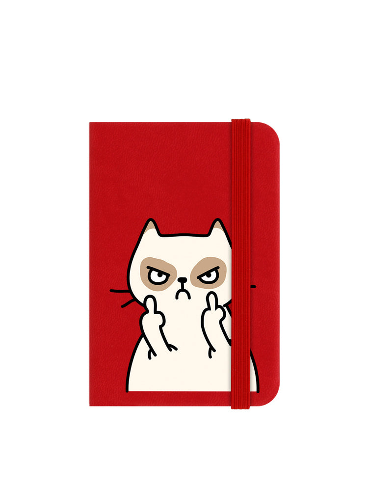 Muther Fluffer Mini Red Notebook