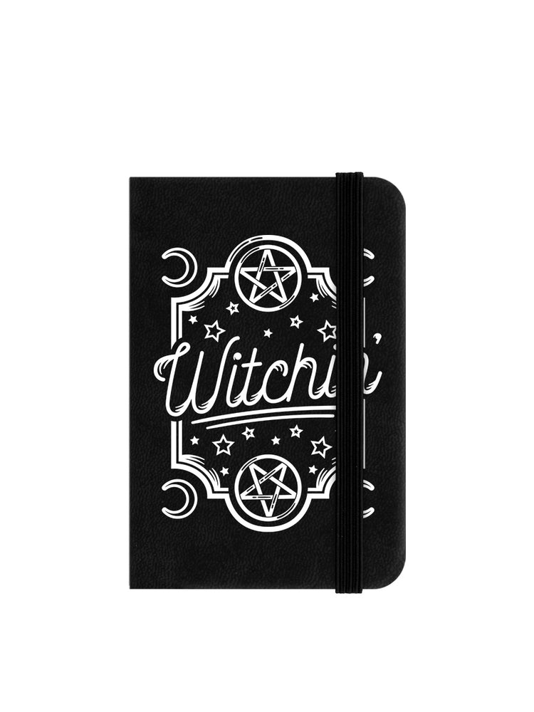 Witchin' Mini Black Notebook