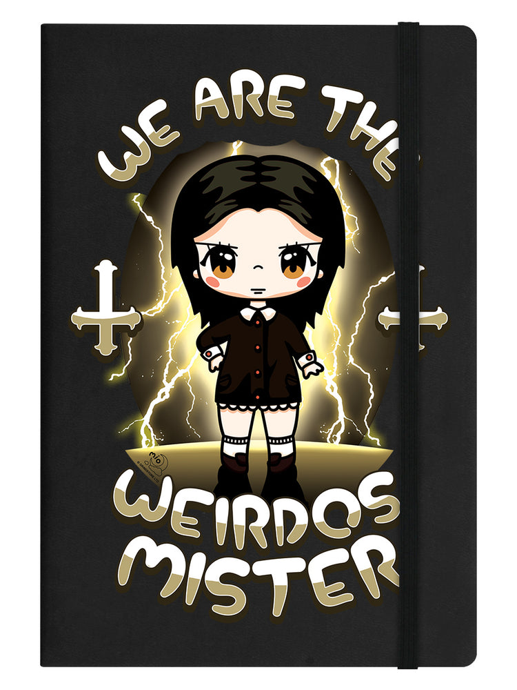 Mio Moon We Are The Weirdos Mister Black A5 Hard Cover Notebook
