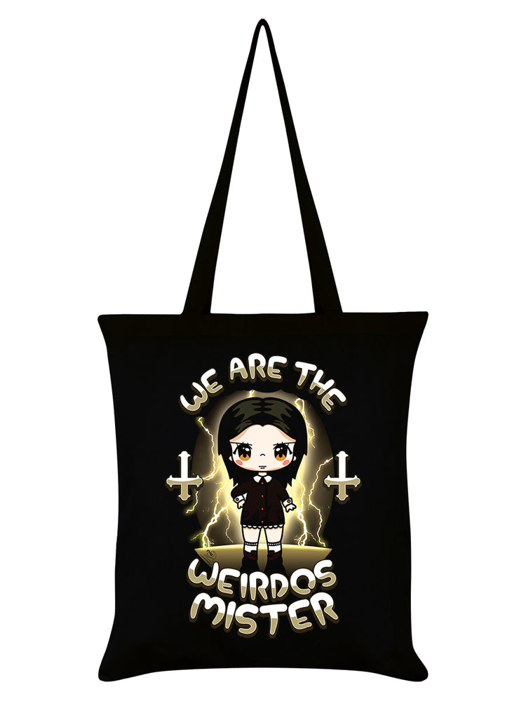 Mio Moon We Are The Weirdos Mister Black Tote Bag