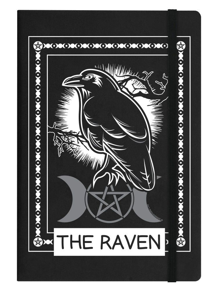 The Raven Black A5 Hard Cover Notebook