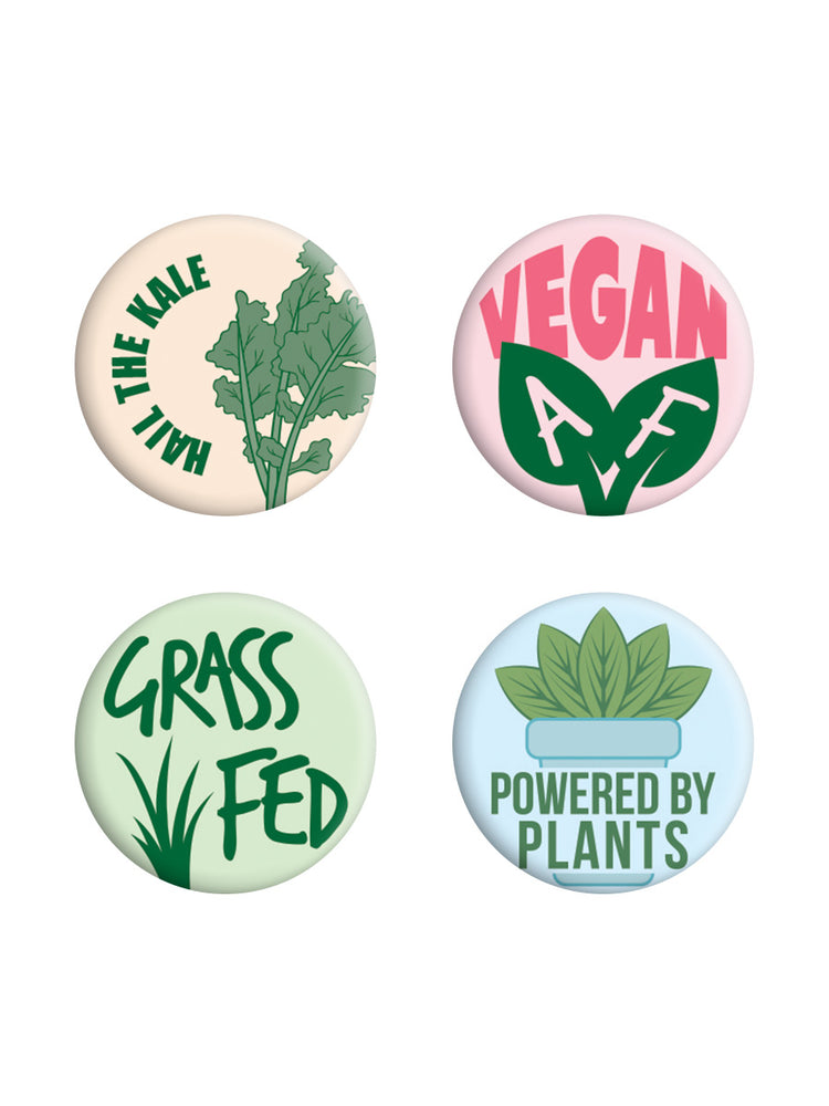 Hail The Kale Badge Pack