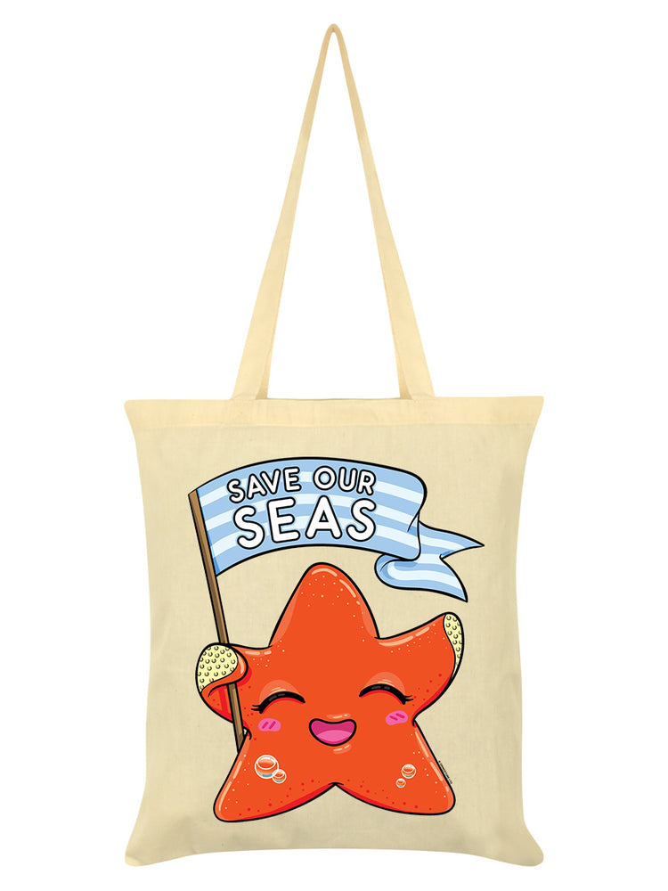 Save Our Seas Cream Tote Bag