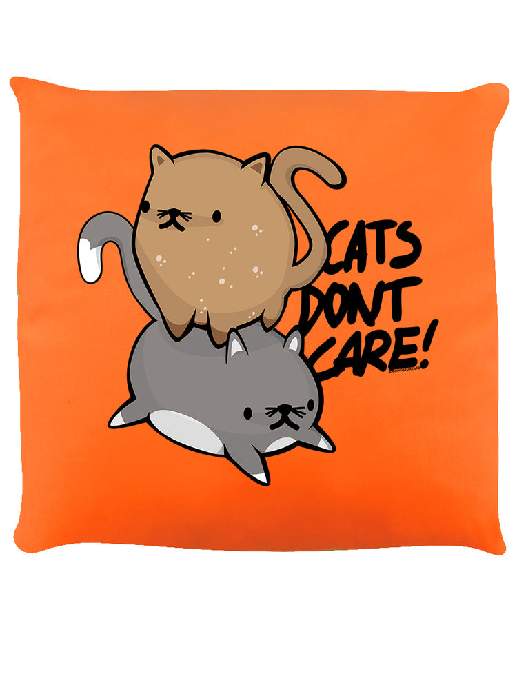 Cat's Don't Care Cushion