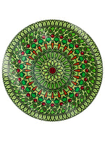 Veggie Spiral Glass Chopping Board