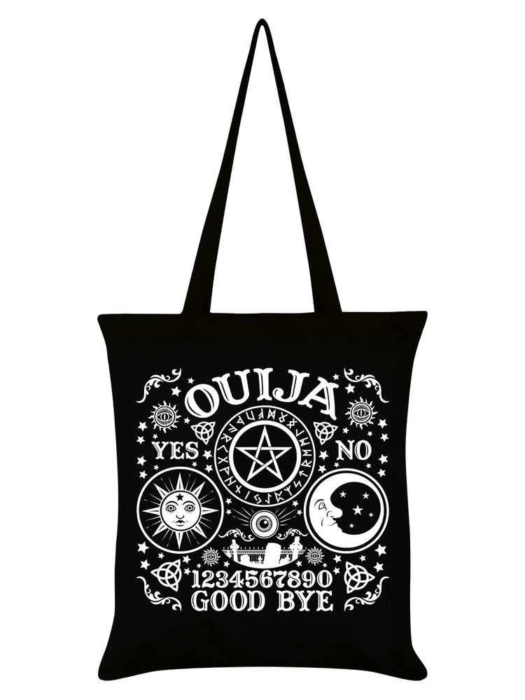 Ouija Board Black Tote Bag