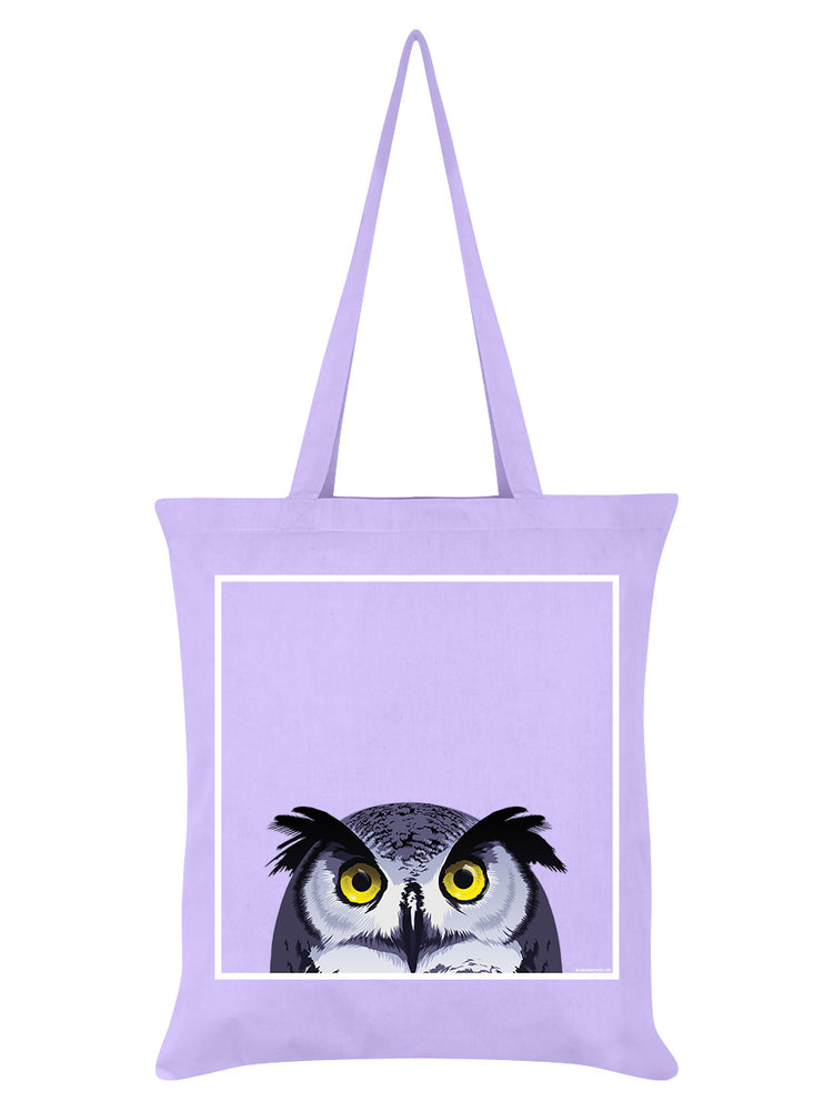 Inquisitive Creatures Lilac Tote Bag