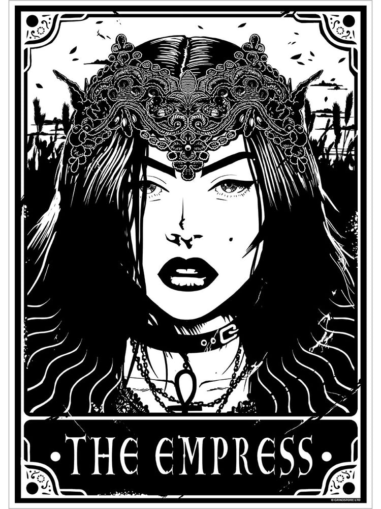 Deadly Tarot - The Empress Mini Poster