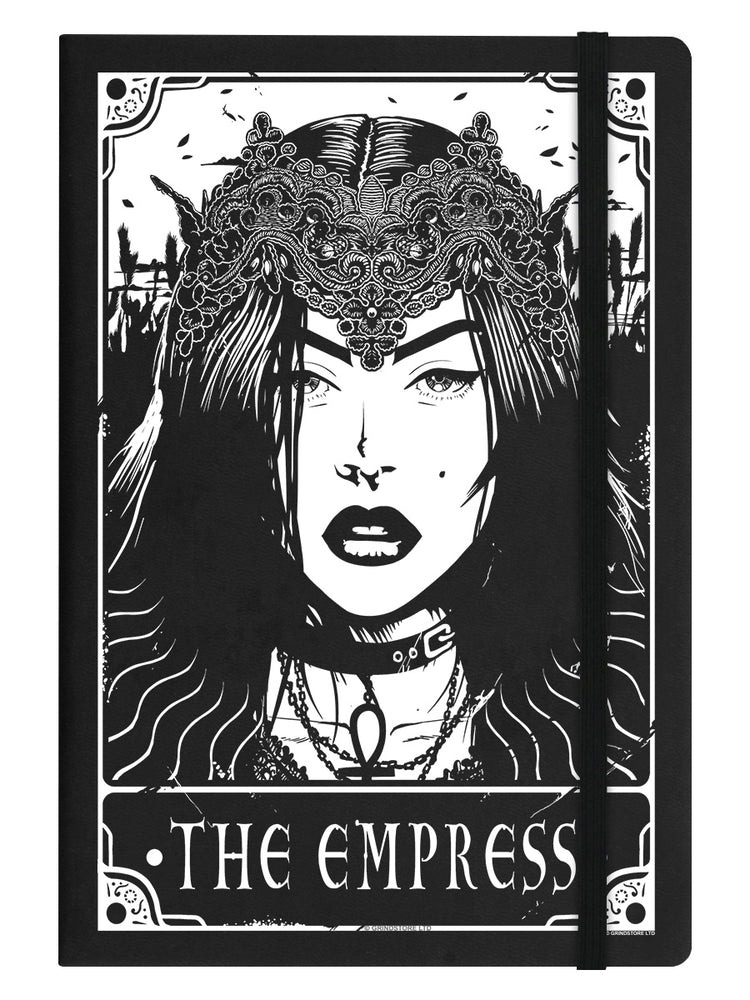 Deadly Tarot - The Empress Black A5 Hard Cover Notebook