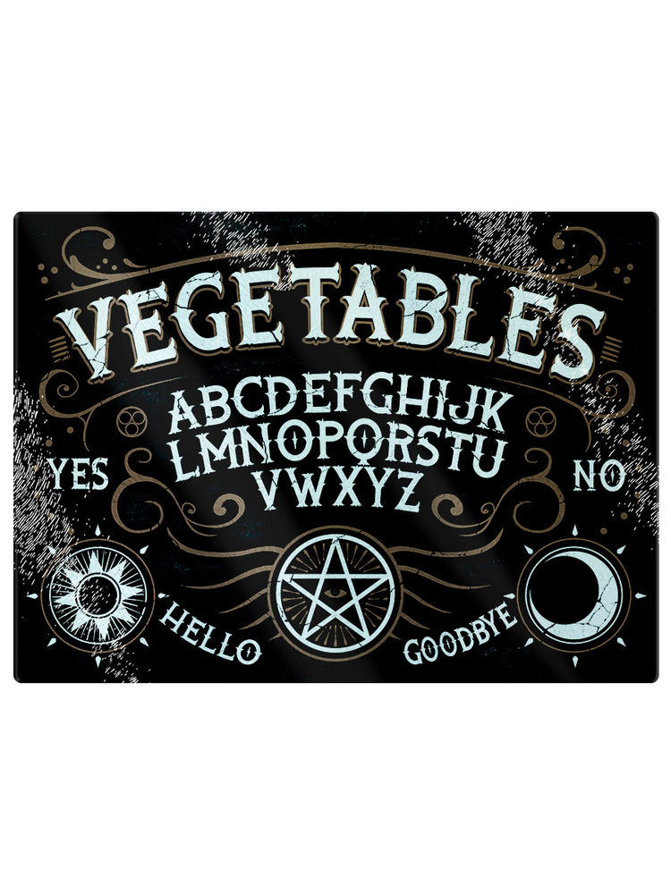 Vegetables Ouija Glass Rectangular Chopping Board