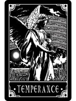 Deadly Tarot - Temperance Small Tin Sign