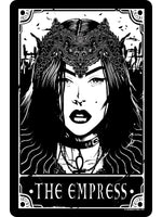 Deadly Tarot - The Empress Small Tin Sign