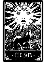 Deadly Tarot - The Sun Small Tin Sign